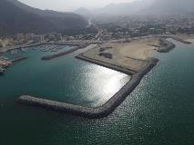 أشغال الشارقة  تنجز أعمال المرحلة الثانية لحماية وتطوير شاطئ خورفكان