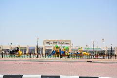 أشغال الشارقة تنجز حديقة سوق الجمعة بمليحة