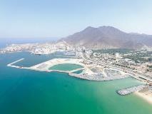 أشغال الشارقة  تنجز 50 بالمائة من أعمال المرحلة الثانية لحماية وتطوير شاطئ خورفكان