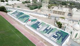 إنجاز المرحلة الأولى من تطوير وتوسعة مدرجات نادي دبا الحصن
